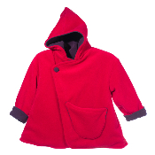 Manteau Emma rouge